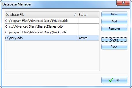 Database manager