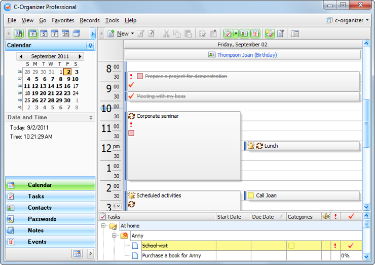 C organizer professional v4.0.1