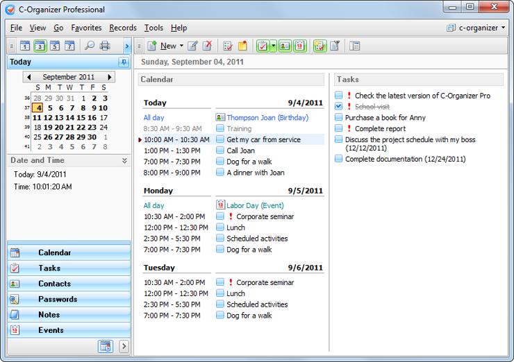C-Organizer Professional 4.7.1 2014